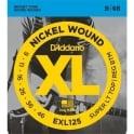 D'Addario EXL125 Nickel Guitar Strings 9-46 Custom Light