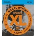 D'Addario EXL140 Nickel Guitar Strings 10-52 Light Top Heavy Bottom
