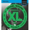 D'Addario EXL220-5 5-String Nickel Wound 40-125 Long Scale Bass Guitar Strings