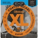D'Addario Extended Play EXP140 Electric Guitar Strings 10-52 LTHB
