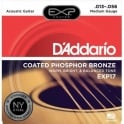 D'Addario Extended Play EXP17 Phosphor Bronze Acoustic Guitars Strings 13-56 Medium