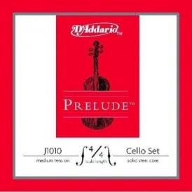 D'Addario J1010 Prelude Cello Strings, Medium Tension, Medium Scale