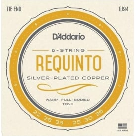 D'Addario J94 Requinto Silver Wound on Nylon String Set