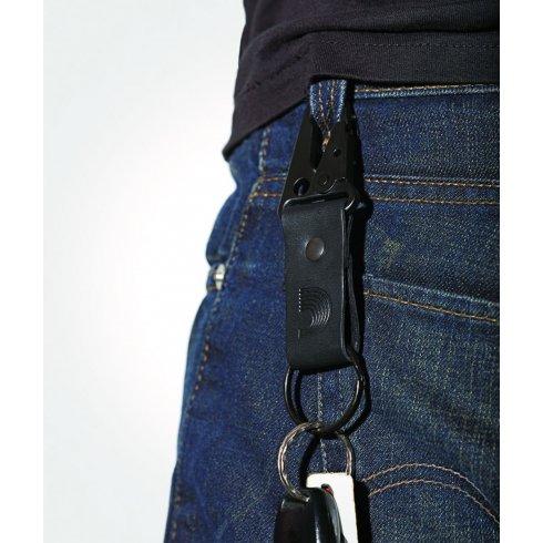D'Addario Leather Keyring/Keychain