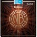D'Addario Nickel Bronze Acoustic Guitar Strings 12-52 Light Balanced Tension