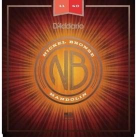 D'Addario Nickel Bronze Acoustic Mandolin Strings