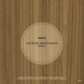 D'Addario Nickel Bronze Wound .022 Single String
