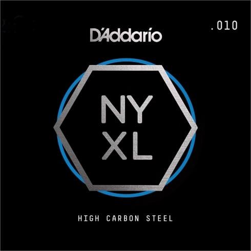 D'Addario NYXL High Carbon Plain Steel Single Strings (Gauges .007-.026)