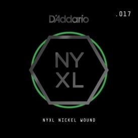D'Addario NYXL Nickel Wound Single Electric Guitar Strings