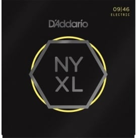D'Addario NYXL0946 Nickel Guitar Strings 9-46 Regular Light