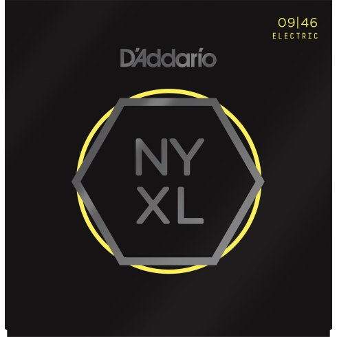 D'Addario NYXL0946 Nickel Wound Electric Guitar Strings 09-46 Regular Light