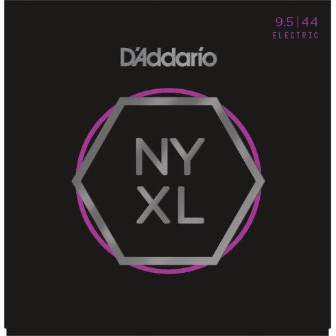 D'Addario NYXL09544 Nickel Guitar Strings 9.5-44 Super Light Plus