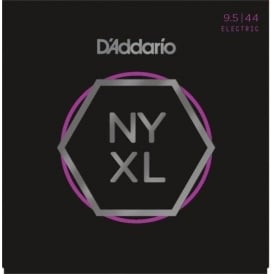 D'Addario NYXL09544 Nickel Wound Electric Guitar Strings 9.5-44 Super Light Plus