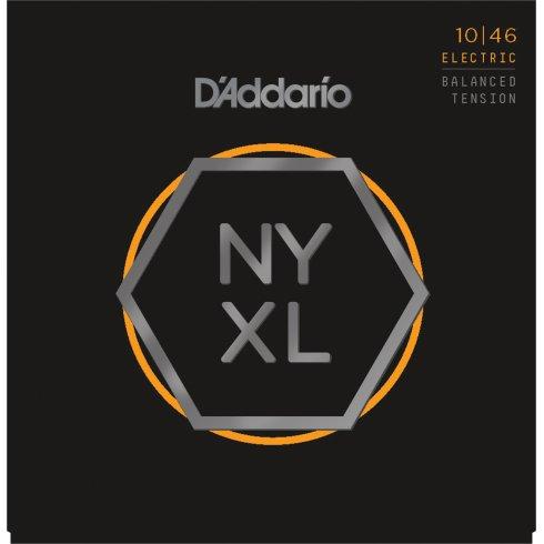 D'Addario NYXL1046BT Balanced Tension Nickel Guitar Strings 10-46 Light
