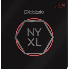 D'Addario NYXL1052 Nickel Wound Electric Guitar Strings 10-52 Lt Top Heavy Bottom