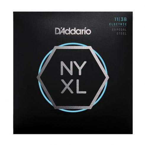 D'Addario NYXL1138PS NYXL Nickel Wound Pedal Steel Regular Light