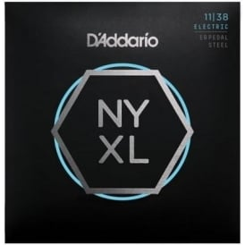 D'Addario NYXL1138PS NYXL Nickel Wound Pedal Steel Regular Light