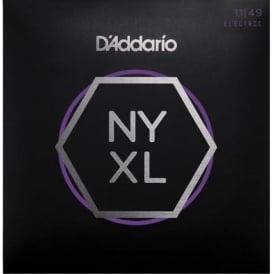 D'Addario NYXL1149 Nickel Guitar Strings 11-49 Jazz Rock