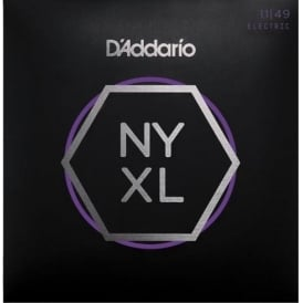 D'Addario NYXL1149 Nickel Wound Electric Guitar Strings 11-49 Jazz Blues Gauge