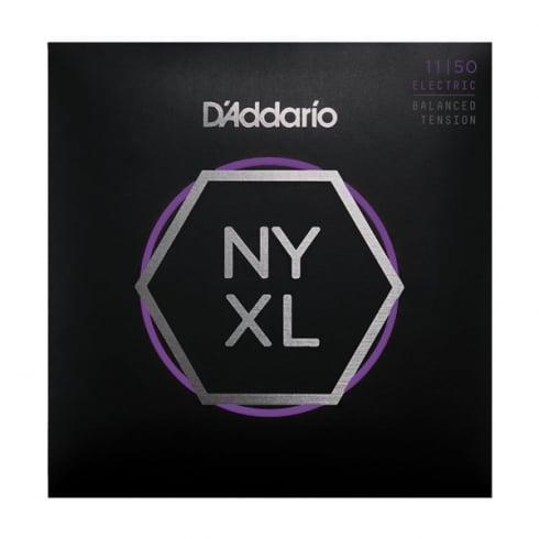D'Addario NYXL1150BT Balanced Tension Nickel Guitar Strings 11-50 Medium