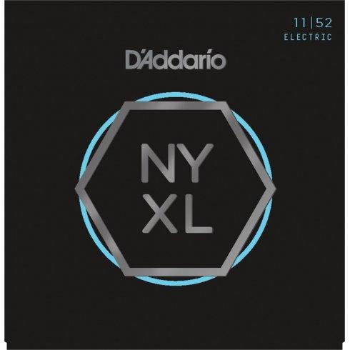 D'Addario NYXL1152 Nickel Guitar Strings 11-52 Medium Top Heavy Bottom