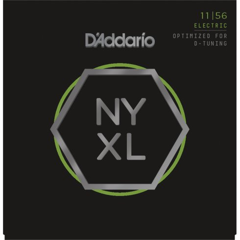 D'Addario NYXL1156 Nickel Guitar Strings 11-56 Drop D