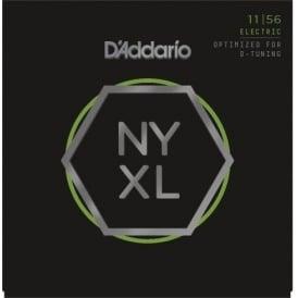 D'Addario NYXL1156 Nickel Guitar Strings 11-56 Drop D