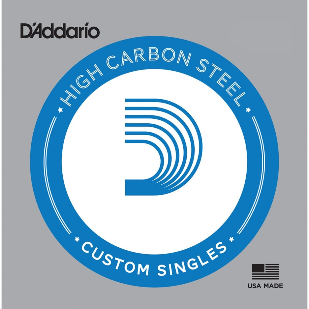 d 39 addario plain high carbon steel custom single strings. Black Bedroom Furniture Sets. Home Design Ideas