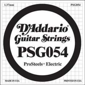 D'Addario PSG054 Stainless Steel Wound Single String .054