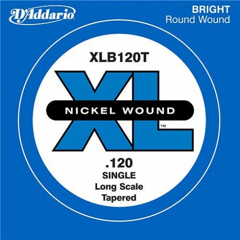 XLB120T Nickel Wound XL Bass Single String .120 Long Scale Tapered