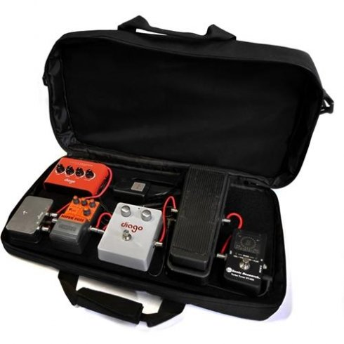 Diago PB08 Pedalboard Commuter Softcase with Diago Micro Power Supply