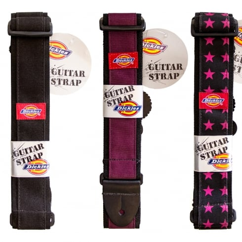 Dickies Classic US Cult Style Guitar Straps