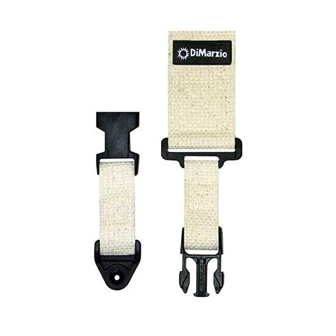 DiMarzio ClipLock Quick Release Guitar Strap, Cotton (Natural) 2200C