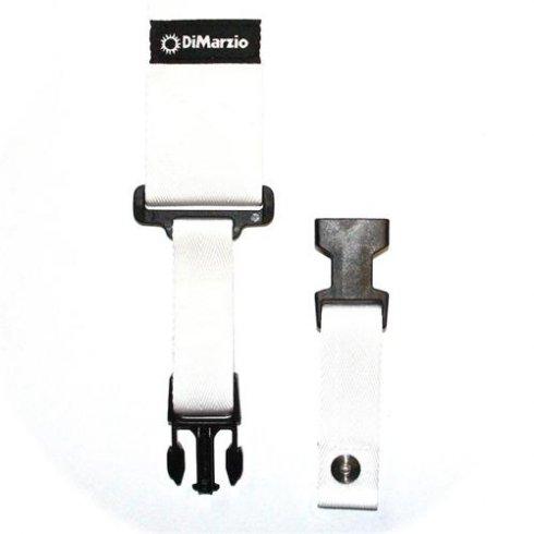 DiMarzio ClipLock Quick Release Guitar Strap White
