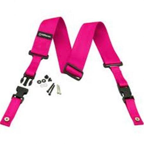 DiMarzio ClipLock Quick Release Strap - Neon Pink
