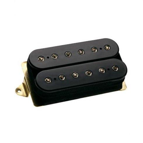 DiMarzio DP100F Super Distortion Electric Guitar Humbucker Pickup, Bridge F-Spaced, Black