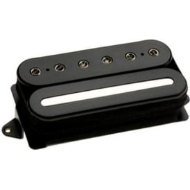 DiMarzio DP228F Crunch Lab Electric Guitar Humbucker Pickup, Bridge F-Spacing, Black