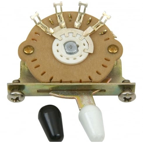 DiMarzio EP1104 Fender Stratocaster Electric Guitar 5 Way Pickup Selector Switch