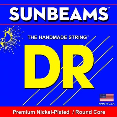 DR Handmade 4-String Sunbeam Nickel Plated 45-100 Long Scale Bass Guitar Strings NMLR-45