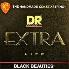 DR Black Beauties Coated Electric Guitar Strings 10-46 Regular