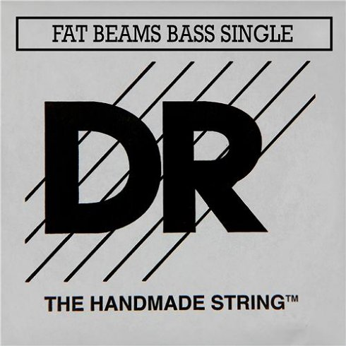 DR Handmade Fat Beam Marcus Miller .040 Long Scale Bass Single String