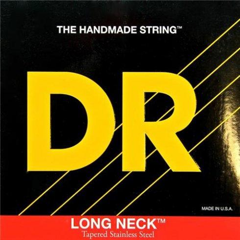 DR Handmade Long Neck Taper Core Stainless Steel Bass Strings 40-100 Light