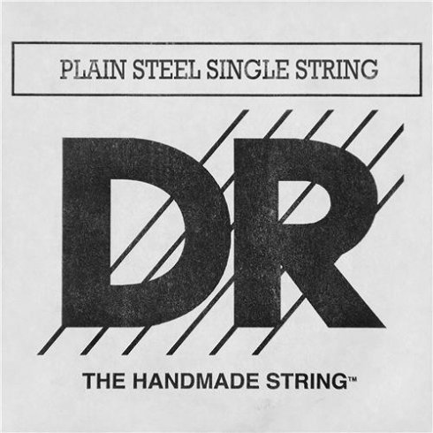 DR Handmade Plain Ball End Single Steel String .017