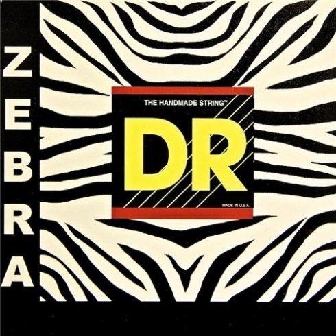 Zebra Lantern String Lights : DR Handmade Zebra Electro/Acoustic Guitar Strings 10-48 Light ZAE-10