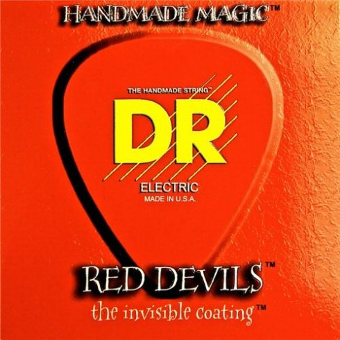 DR Handmade DR Red Devil Coated 12-52 Electric Strings RDE-12