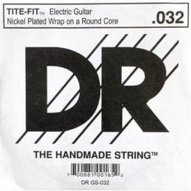 DR Tite-Fit Nickel Plated .032 Electric Guitar Single String