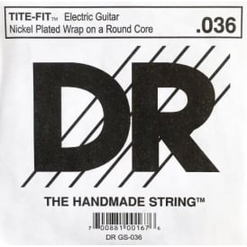 DR Tite-Fit Nickel Plated .036 Electric Guitar Single String