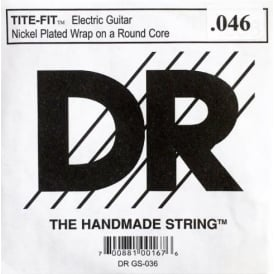 DR Tite-Fit Nickel Plated .046 Electric Guitar Single String