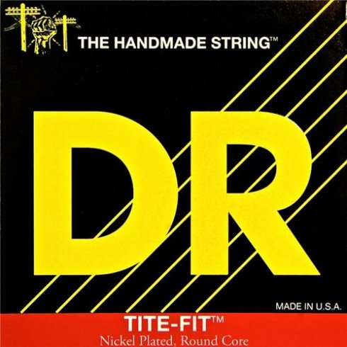 DR Handmade DR Tite Fit Nickel Plated 10-46 Medium Electric Guitar Strings