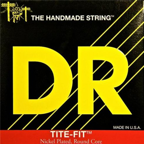DR Handmade DR Tite Fit Nickel Plated 10-52 Lite n Heavy BT-10